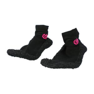 SOCK SHOES BLACK LINE XS PINK